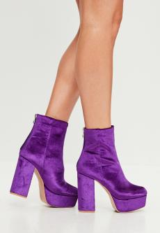 purple-velvet-platform-heeled-ankle-boots